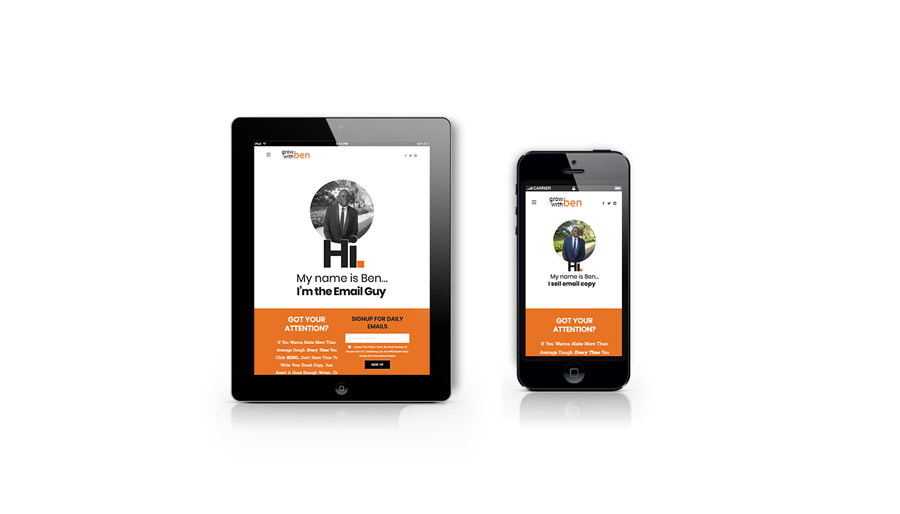 Grow With Ben Iphone & Ipad